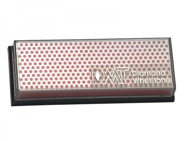 DMT Benchstone Diamantschärfer, rot/feine Körnung (600), trocken oder mit Wasser verwendbar, Kunstst