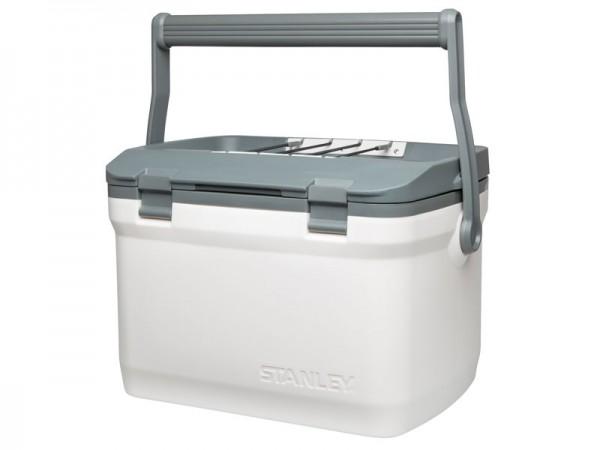 Stanley Adventure Kühlbox, 15,1 Liter Fassungsvermögen,, polarweiss, doppelwandige Schaum-Isolation