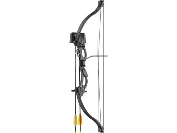 Ek-Archery Compound Jugendbogen Set Kirupira, Köcher,, Zuggewicht 6,8-9,1 kg(15-20lbs.) 2 Fiberglasp