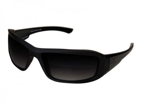 Edge Tactical Safety Eyewear, Hamel, matt Schwarz,, antikratzbeschichtet, polarisierend, Verlauf Gra