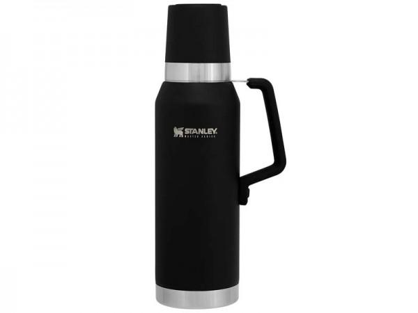 Stanley Vacuum Bottle 1,3 l, QuadVac Vakuumisolierung,, silikonummantelter Stahlgriff, isolierter Ve