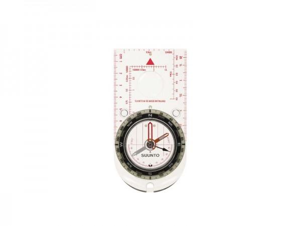 SUUNTO Linealkompass M-3 GLOBAL, 360-Grad-Einteilung,, Gobal Balancing System, transparente Bodenpla